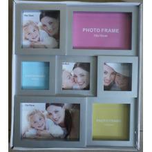 Silber beliebte Collage-Fotorahmen