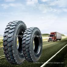 Neumático de camioneta marca Annaite 10.00r20 11.00r20 12.00r20 con certificado de patrón DOT 399