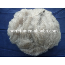 Sharrefun (Mongolia Herkunft) reine haarlose Kaschmir-Faser braune Farbe