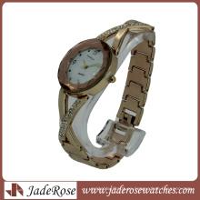 Reloj de cuarzo Rosegold Elegant Fashion para dama