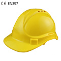 CE construction industrial safety helmet with vents