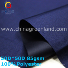 Plaid Polyester Pongee Jacquard Fabric for Sportswear (GLLML337)