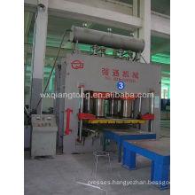 wood pallet making machine/ plastic plate forming machine