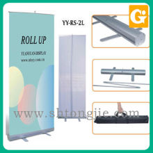 Wholesales cheap price protable moving paper printing pull up banner stand display