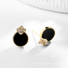 DARA Round Gold Jewelry safety pin with wholesale price