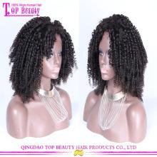 Новое прибытие дешевые модные натуральные кружева перед афро парик для чернокожих женщин