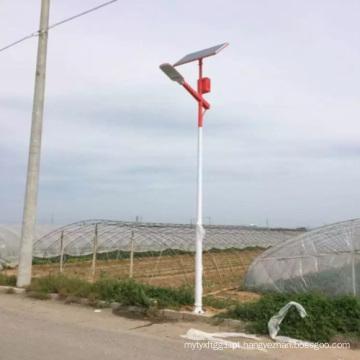 Projeto Solar Profissional de Luz de Rua de 60W 8m com Bateria de Lítio