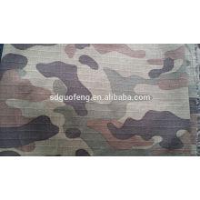 T / C80 / 20 tissu imprimé camouflage rip-stop 57/58 ''