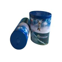 Пользовательский нерегулярный овальный формульный металлический оловянный коньятор для чайной конфеты