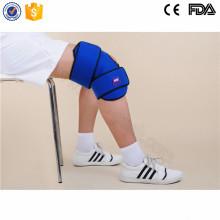 Adujustable tamanhos melhor compressa fria joelho tratamento da correia alívio da dor