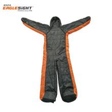Outdoor Sports Easy To Wear On/Off human shape Walking Sleeping Bag Wearable Sleeping Bag Human Shape sleeping bag