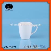 heart shape handle porcelain mug for promotion