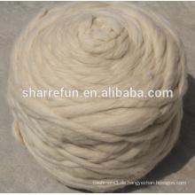 Factory Sales weiße chinesische Schafwolle Top