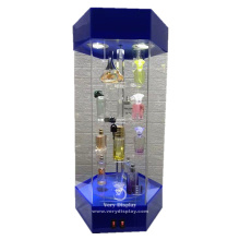 Luxury store floor standing Rotating display showcase
