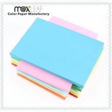 Papier en papier sans papier couleur sans papier pour l'emballage et l'impression