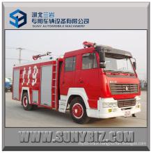 6000L ~ 12000L Steyr 4X2 Fire Fighting Truck