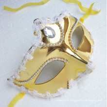 Half face masquerade mask princess show cheap party masks