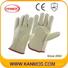 Самая популярная легкая кожаная машина для ковровых покрытий Промышленные защитные перчатки (31016)