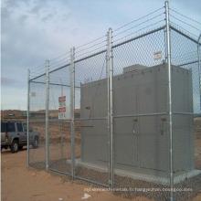 Clôture de chaînette utilisée à bas prix