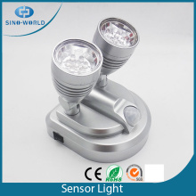 Lamp Head Swivels 360 degree LED sensor light