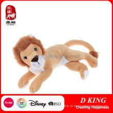 China Atacado Personalizado Animal Leão Brinquedo Animl Stuffed Toy Lion
