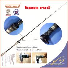 BAR0011pc china nano graphite blank fishing pole bass rod fishing rod