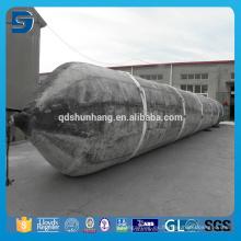 Pontones flotantes inflables de goma marina del barco para la elevación pesada
