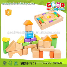 EZ1001 30pieces High Quality Kids Beech Wood Blocks