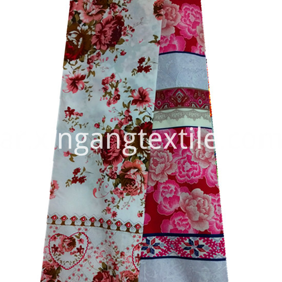 Beautiful Flower Designs Printing 100 Polyester Microfiber5