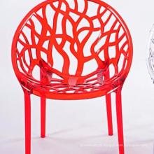 Chaise créative en plastique creux simple mode bon marché