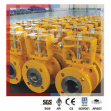 API Wcb Steel V Type Segment Ball Valve for Indonesia