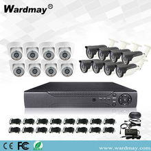 16CH 2.0MP Home Security DVR-systeemkits
