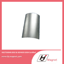 Hot Sale Manufactured by Factory with N50 Neodymium Segment Coating Nickle Magnet for Customer Need