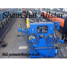 Copper square downspout roll forming machine