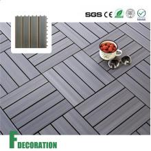 Composto de madeira do Decking telhas de bloqueio