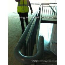 Pasamanos de acero inoxidable para uso en interiores y exteriores