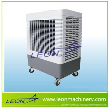Vende-se condicionador de ar evaporativo com almofada de resfriamento para fixação de piso da marca LEON