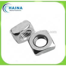 Нержавеющая сталь 304ss DIN557 Гайка квадратная M4-16