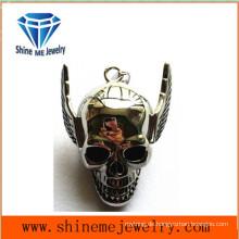 Art- und WeiseEdelstahl-Schmucksache-Halsketten-Schädel-Anhänger