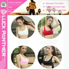Custom Made Wholesale Sexy Yoga Roupas Cruz Voltar Sutiã Esportivo