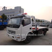 El mejor precio Dongfeng DLK 4 tonelada remolque camión, 4x2 camión wrecker fabricante