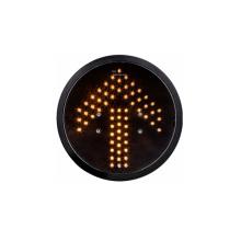 Módulo amarelo do sinal do diodo emissor de luz da seta de 200mm 8 polegadas