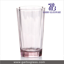 10oz Pink Color Drinking Glass Tumbler