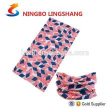 Neck tube multifunctional outdoor headband neck warmer seamless bandana