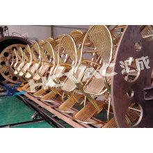 Équipement de revêtement sous vide de feuille d'acier inoxydable PVD, usine de revêtement sous vide, enduit de vide