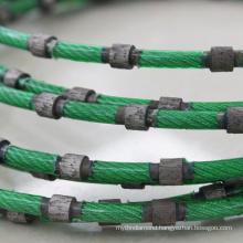 FuJian hard stone cutting 8.5mm diamond wire rope saw