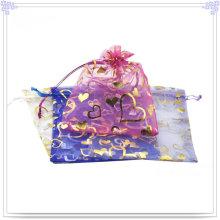 Fashion Jewelry Bag Made of Mull-Chiffon (BG0004)