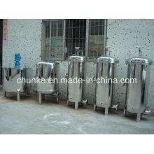 Filtre à eau antibactérien industriel d'acier inoxydable pour le traitement de l'eau