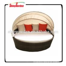 wicker patio bed round, modern round bed, bed round