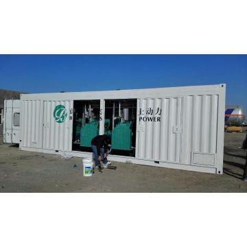 1000kw Tipo Containerizado Gas Natural / GLP / Generador De Biogás